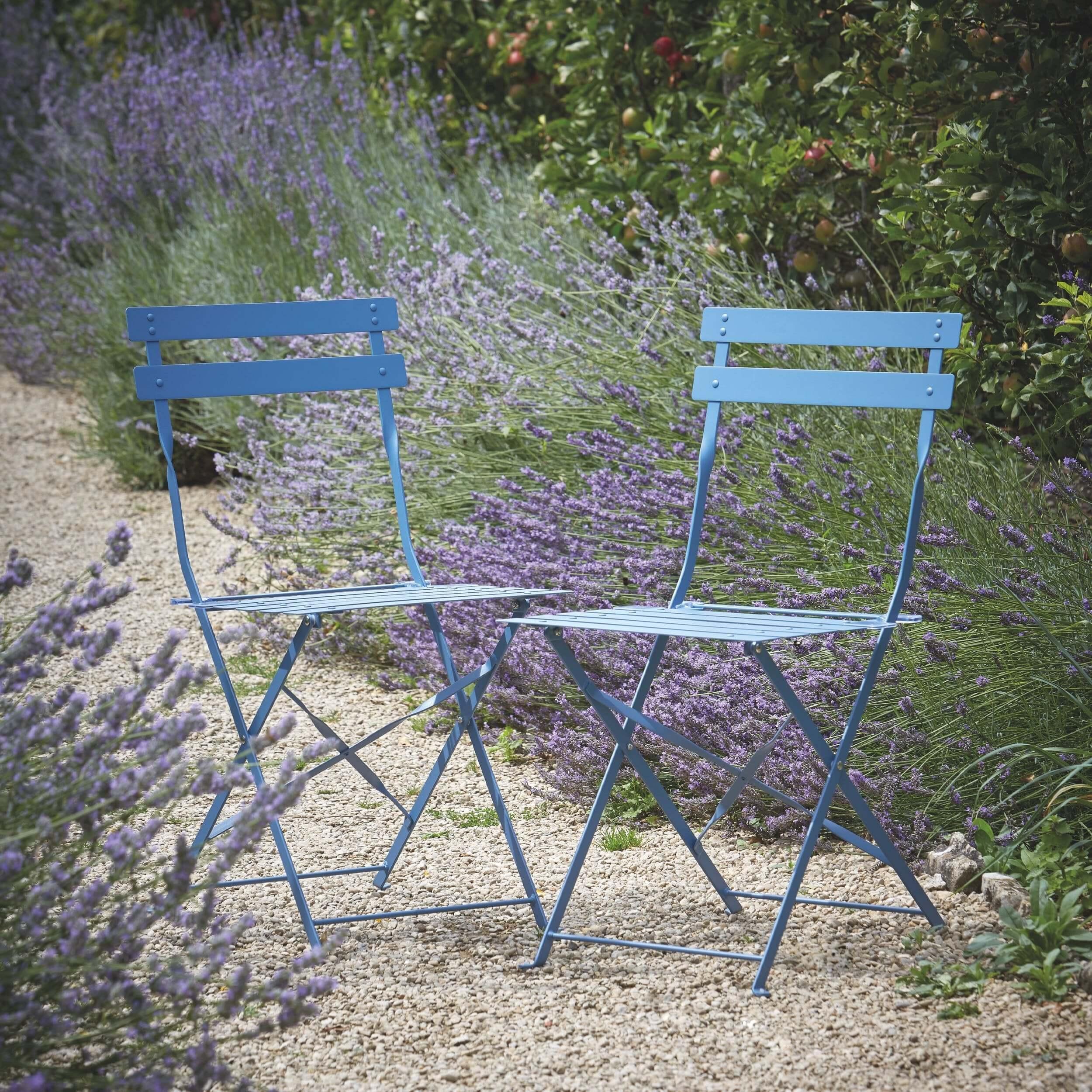 Set of 2 Metro Bistro Chairs