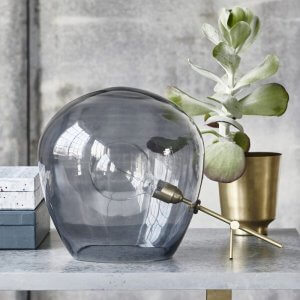 Globe Table Lamp - Grey