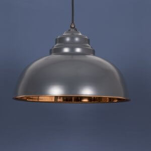 The Harborne Pendant - Charcoal Grey/Copper