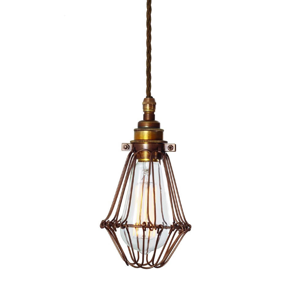 Vintage Cage Pendant Light - SAVE 30%
