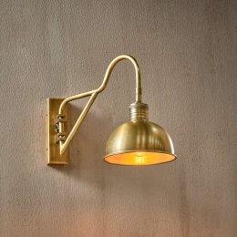 Brass Swan Neck Wall Light