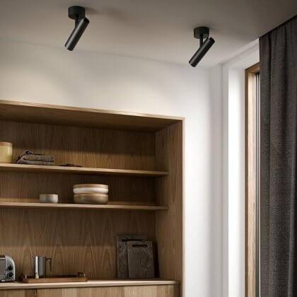 MIB Ceiling Spotlight - Black