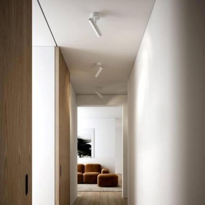 MIB Ceiling Spotlight - White