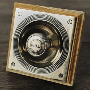 Vicarage Bell Pull - Nickel