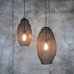 Wire Light Shades - Long