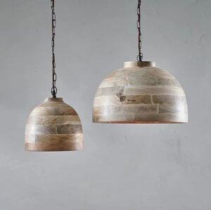 Nila Mango Wood Pendant