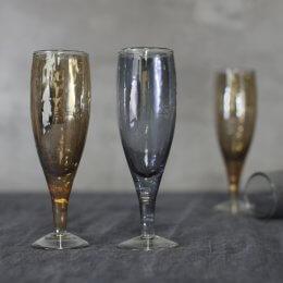 Shimmering Champagne Flutes - save 40%