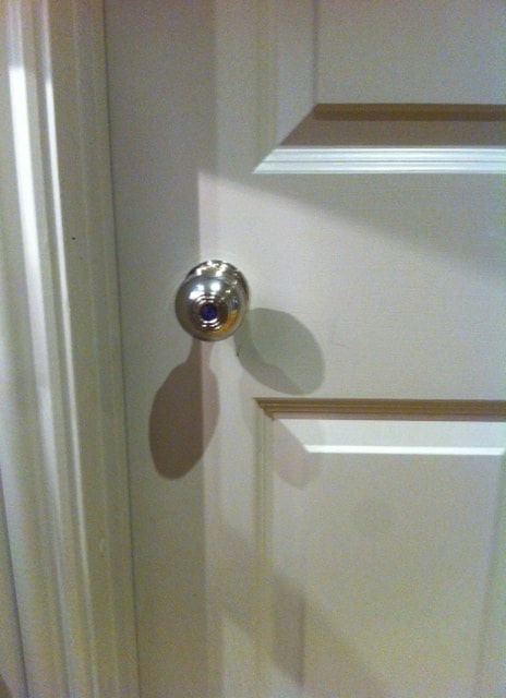 A customer in Hampshire upgraded their door furniture