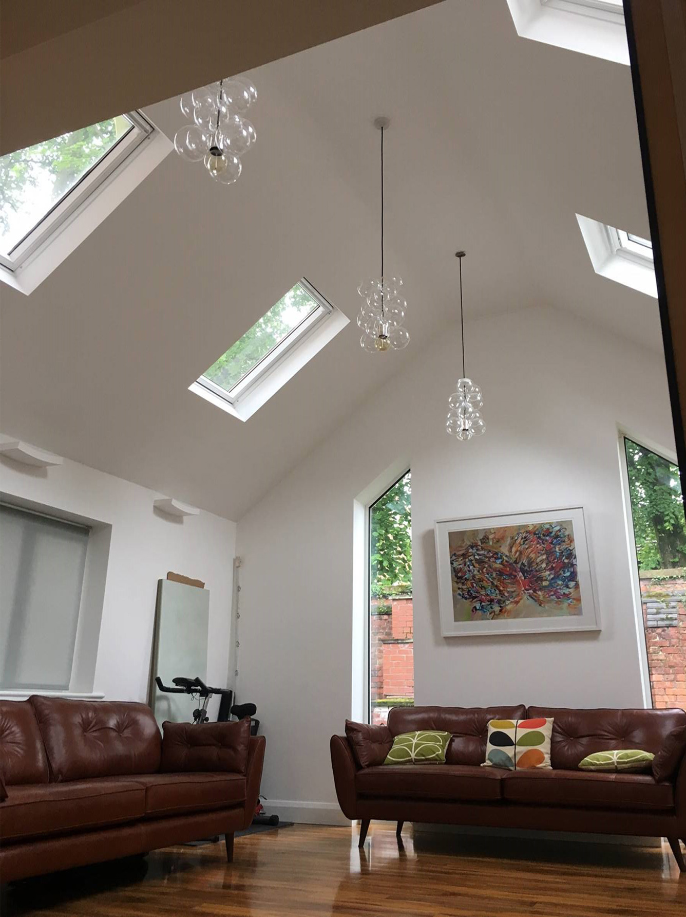 Renovated barn conversion in Manchester