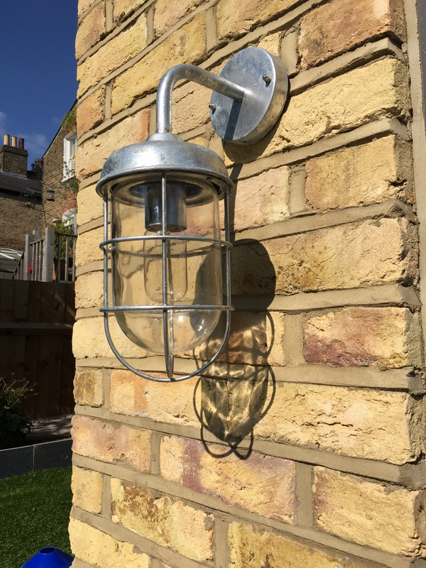 Our London based customer had various outdoor lights including the