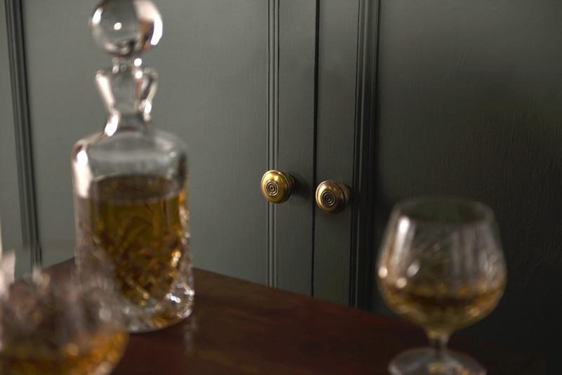 Regency Brass Cabinet Knobs