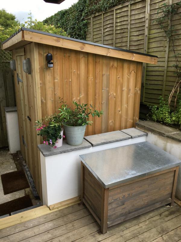Perfect garden storage