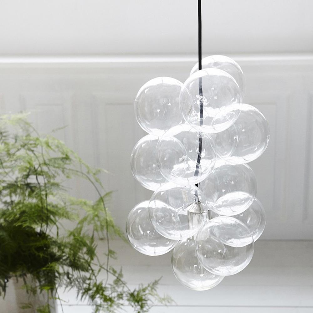 Glass ball light