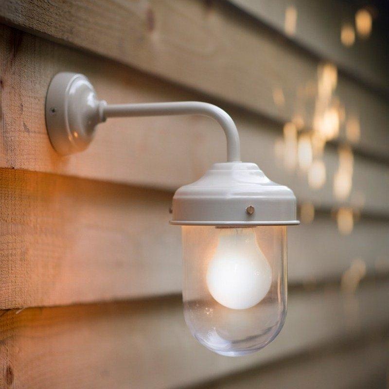 Barn Lamp Clay