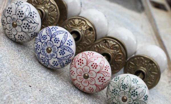 Daha Ceramic Door Knobs