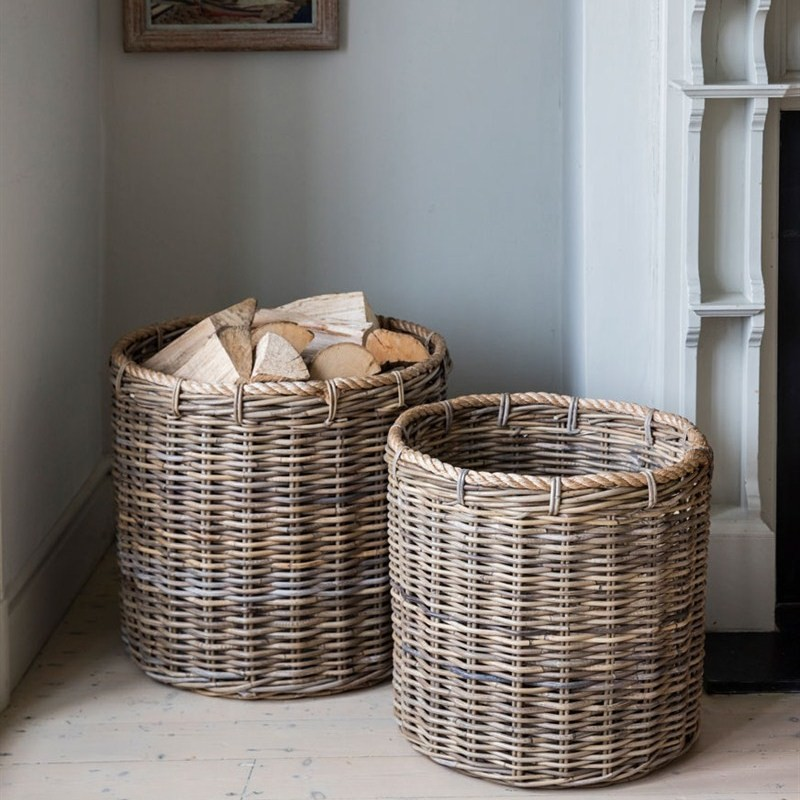 Holkham Log Baskets