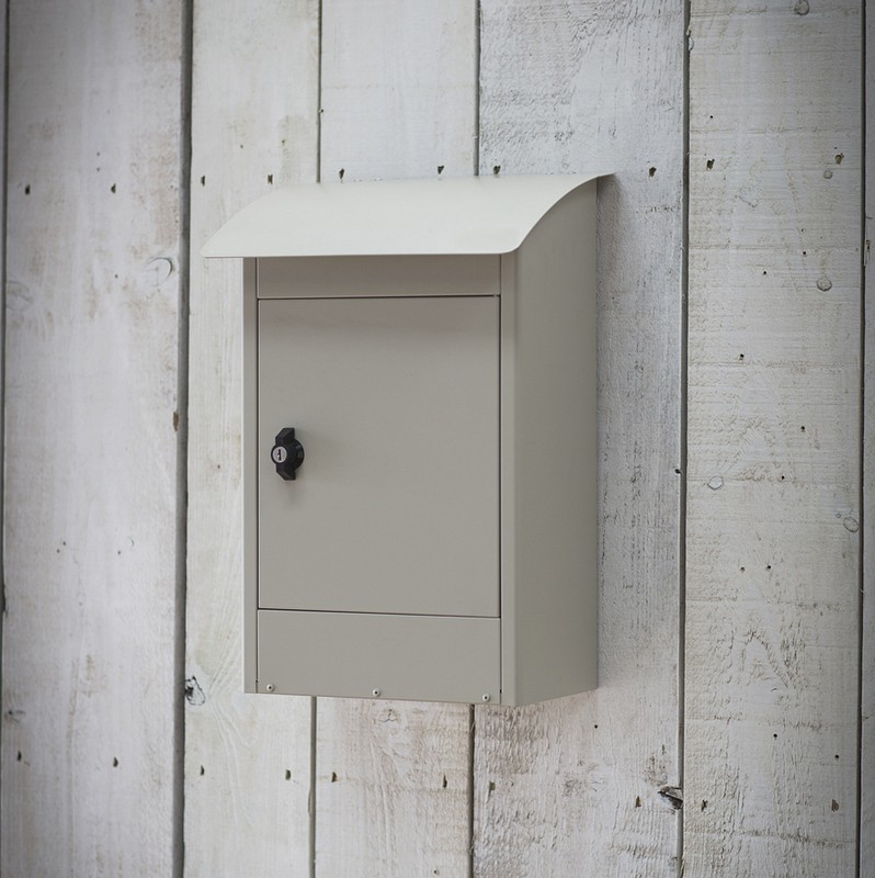 wall mounted post box