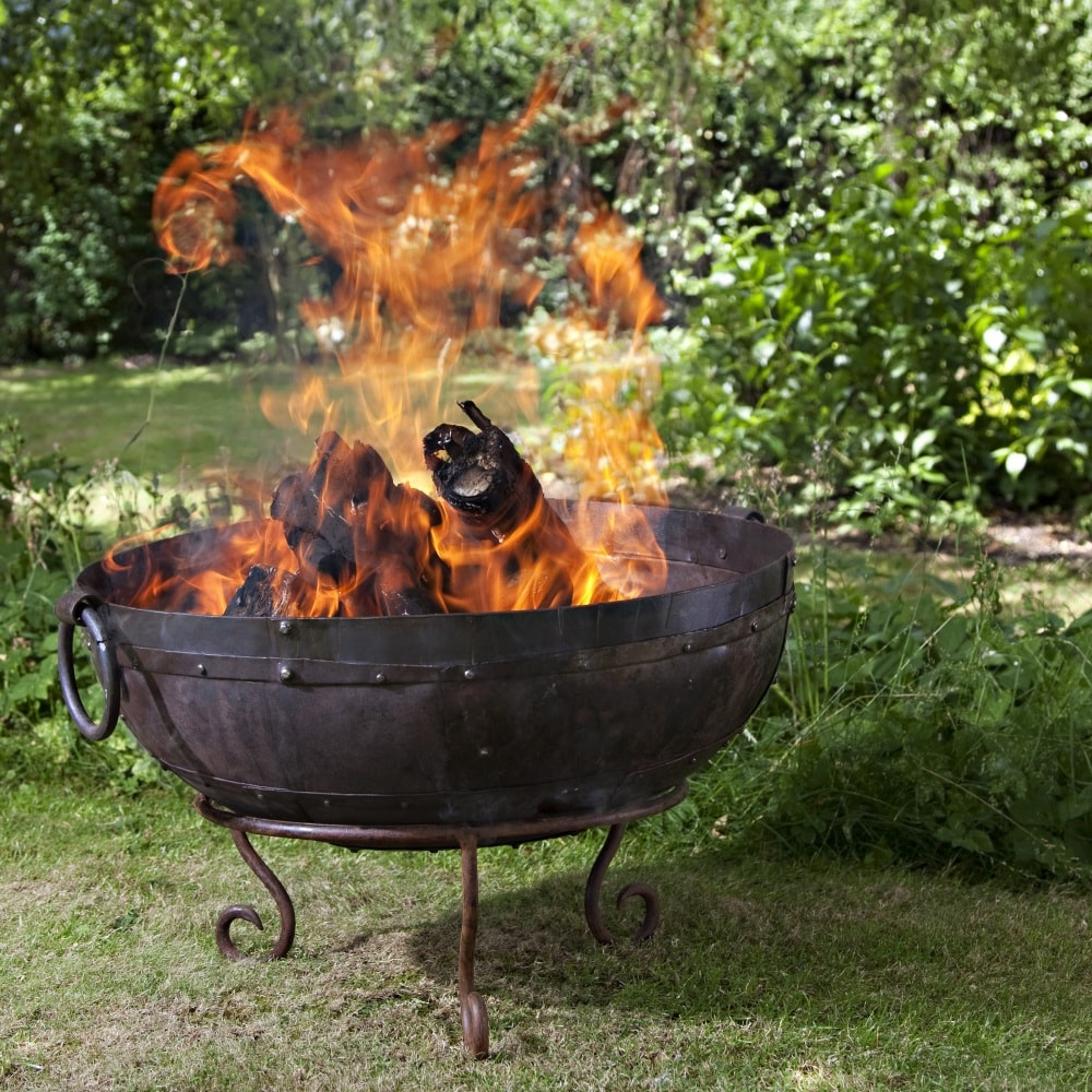 Hen and Hammock firebowl