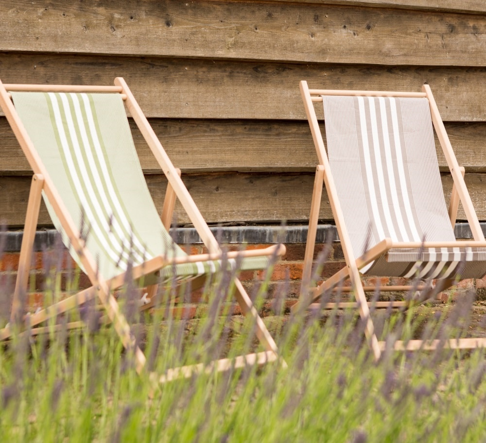 Hen and Hammock deckchairs