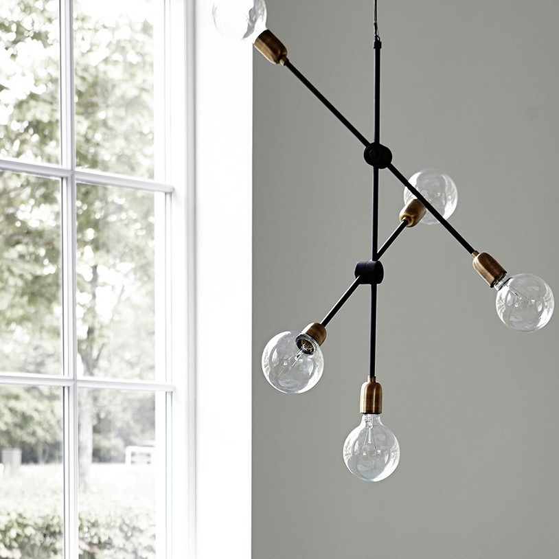 Molecular Pendant Light